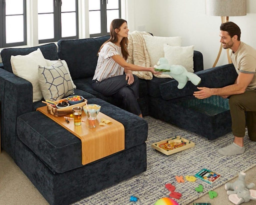 Lovesac is setting up shop at the interlock