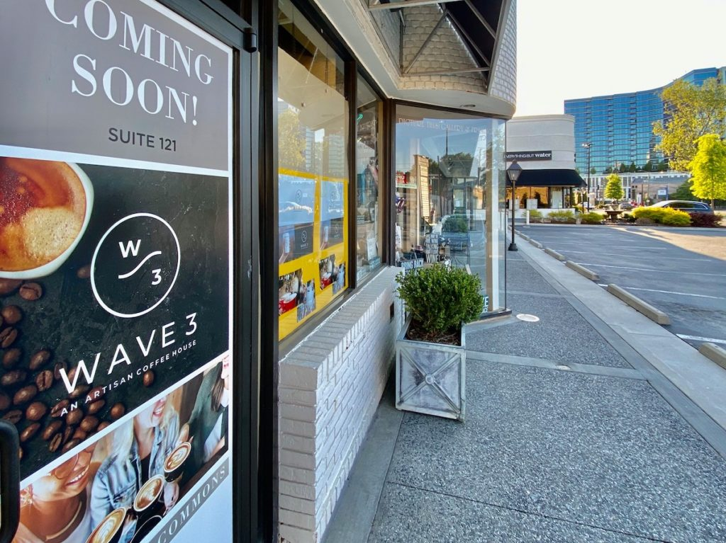 Wave 3 Coffee Nearing Opening Day at Buckhead Commons_photo 1