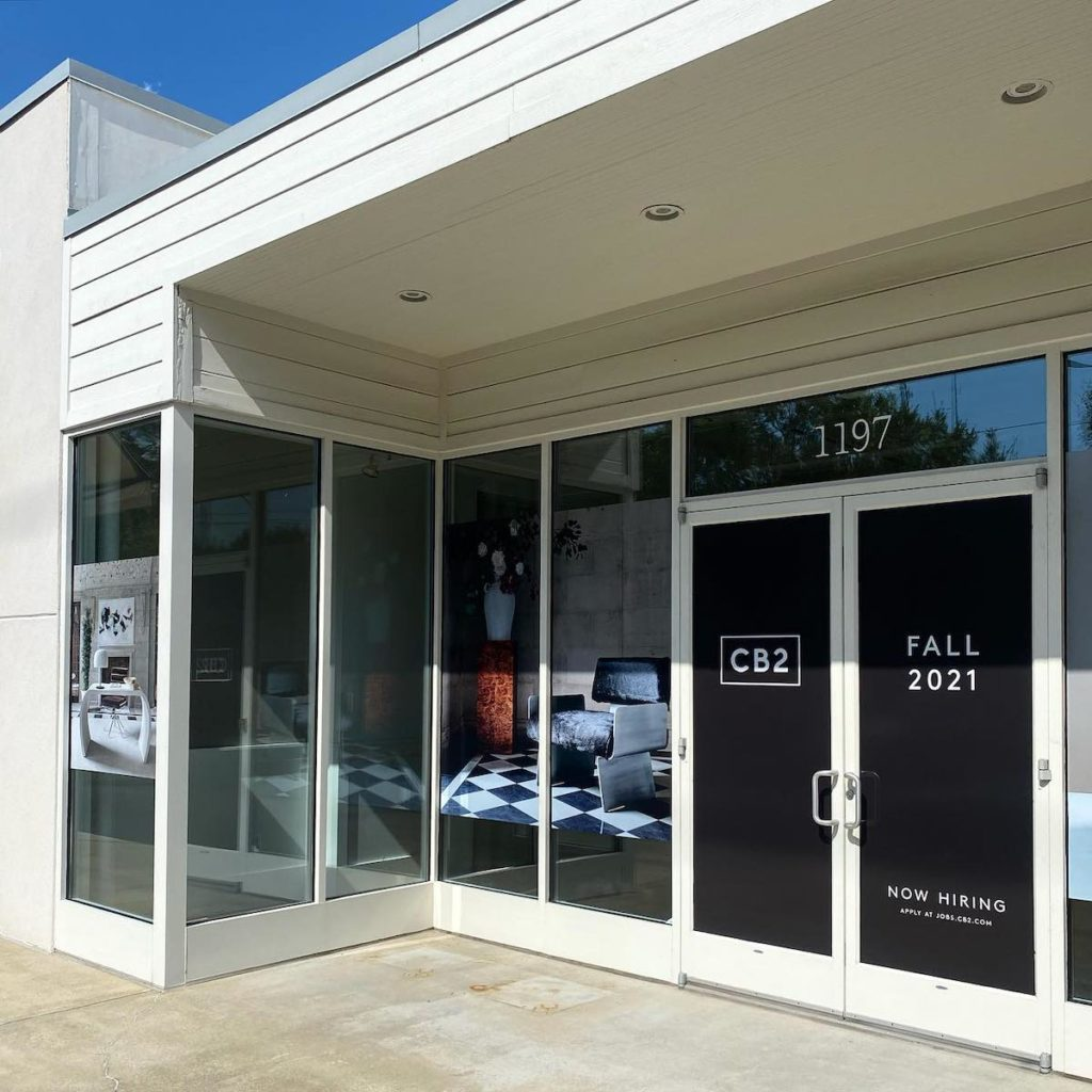 CB2 Returning to Atlanta With Westside Provisions District Store