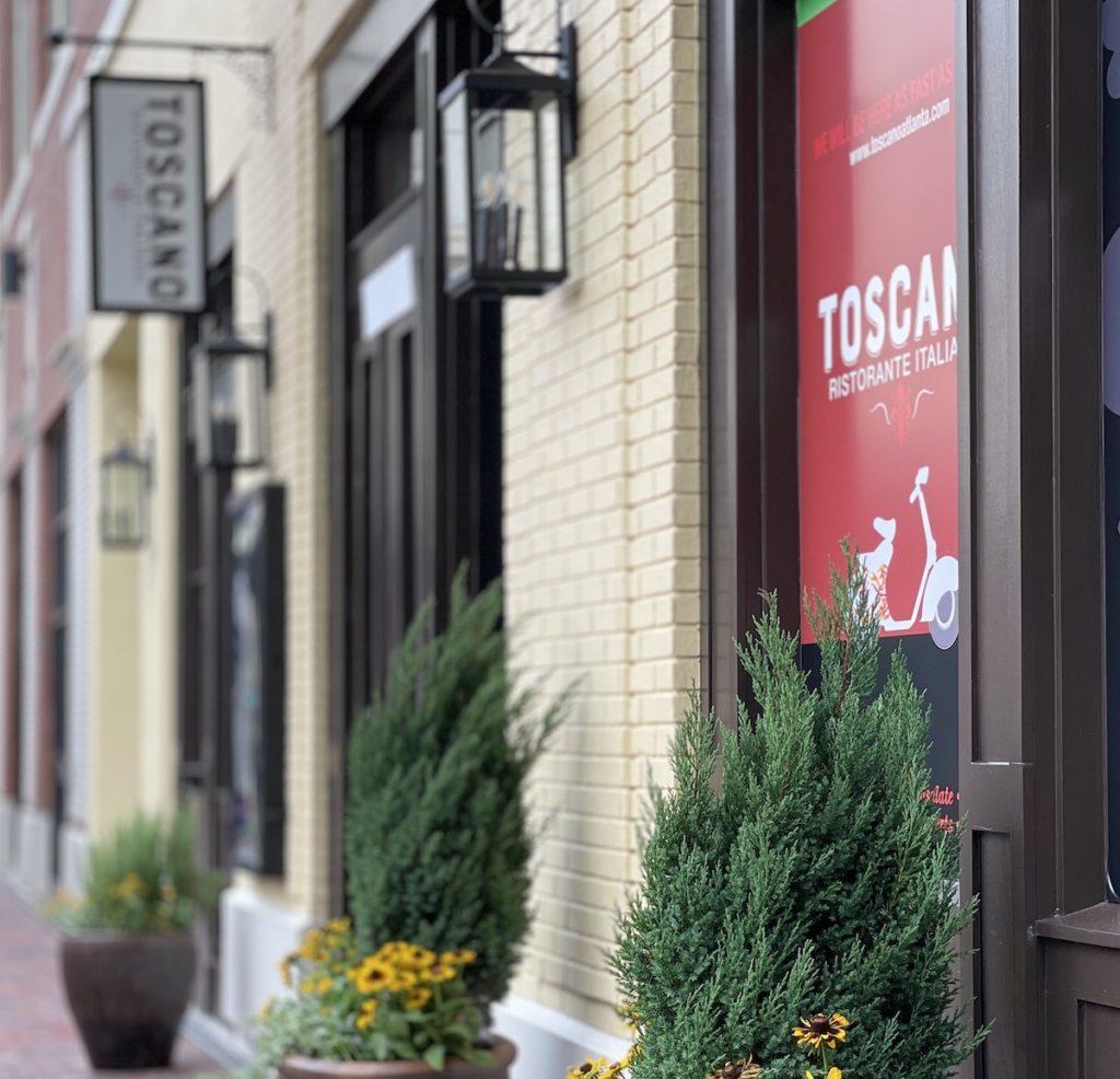 Toscano Ristorante Italiano Now Open at Atlantic Station