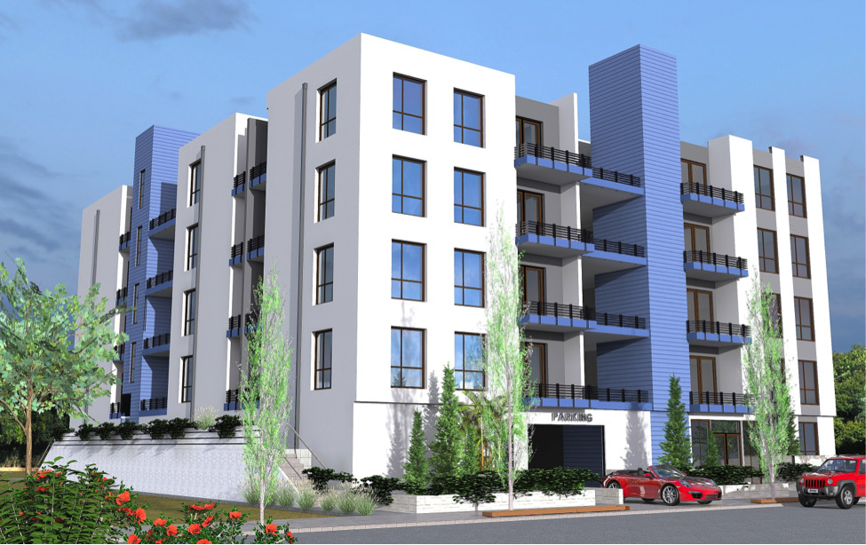 836 - 842 W. 42nd Place - Rendering