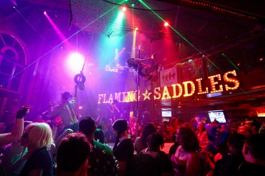 Flaming Saddles West Hollywood - Closed