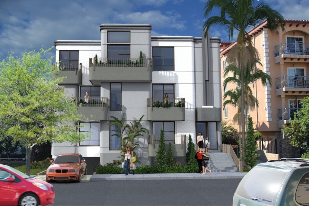Five-Story Greater Wilshire Apartment Building Proposed