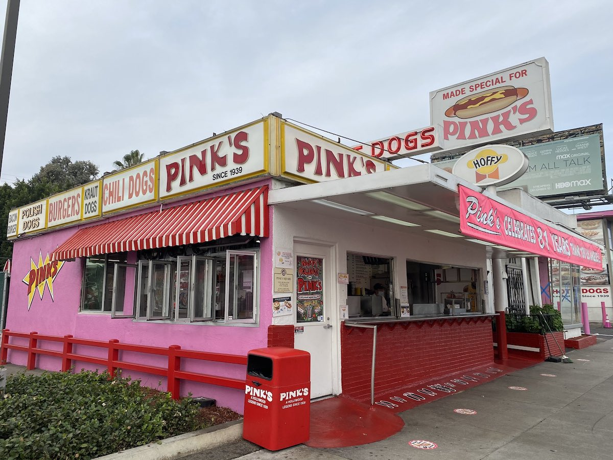 Iconic Hollywood Hot Dog Stand Pink's Hot Dogs Going Dark For Two Months