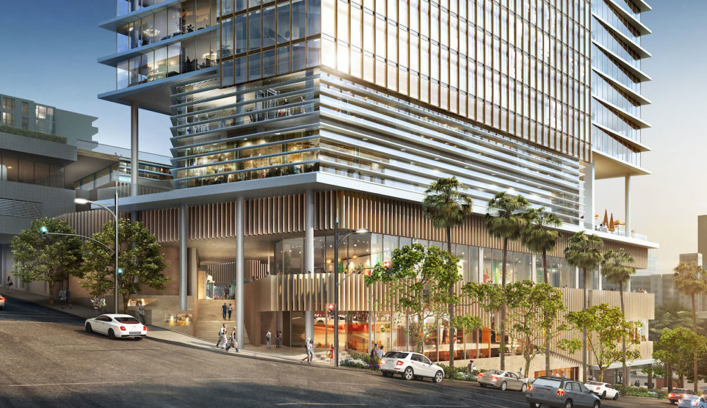 $2 Billion Dual-Tower Luxury Hotel Project Coming To DTLA