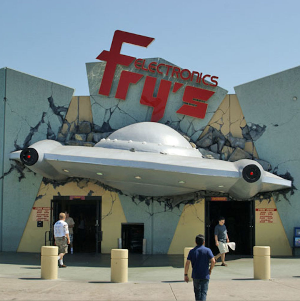 California-Based Fry's Electronics Abruptly Shutters All 31 Stores Nationwide
