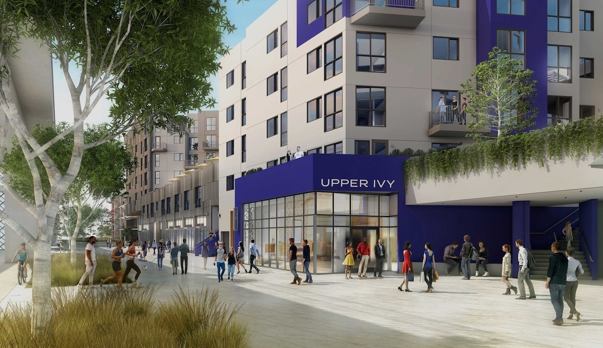 Ivy Station Mixed-Use Opening in Phases Starting with Upper Ivy Apartment Community