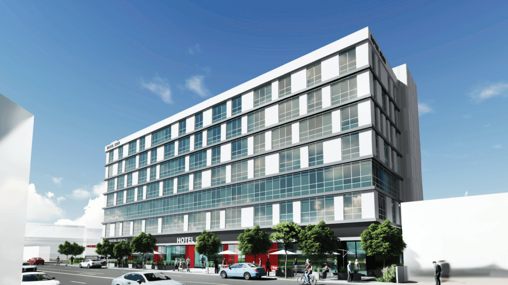 1450 South Robertson Hotel Rendering1