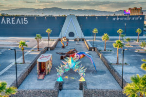 Details, Timeline Surface For 'Experiential' Attraction, Event Venue Illuminarium in Area 15 - Photo