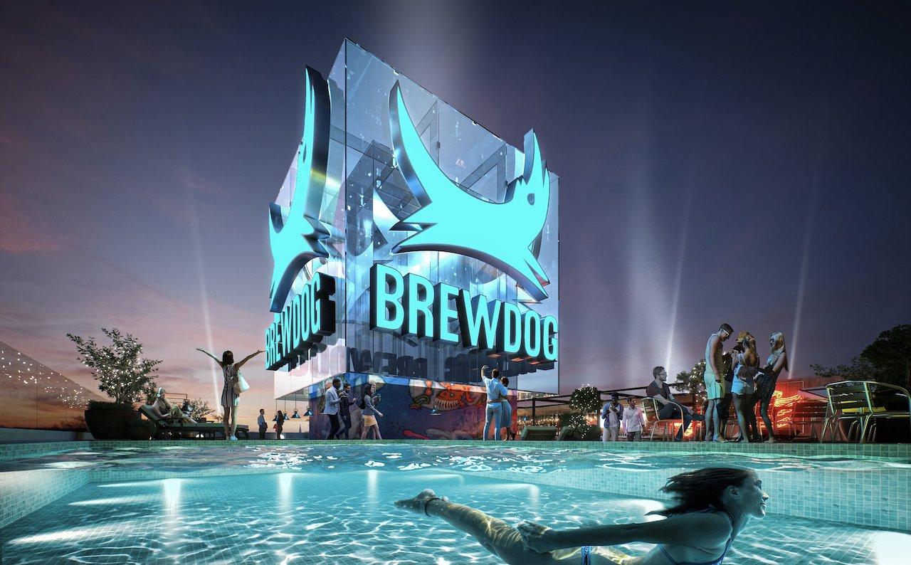 BrewDog reveals plans for ambitious Las Vegas rooftop bar