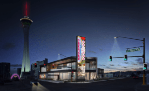 Details Surface For '1700 Vegas,' Mixed-Use Set To Rise at Former Site of Vickie's Diner - Rendering 1