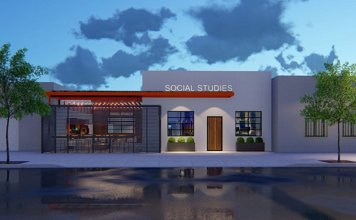 Social Studies Gastropub Plans Resurface After Three-Year Delay - Rendering 1