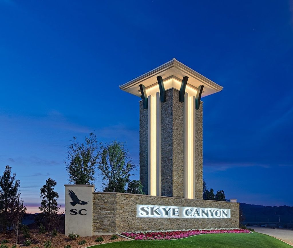 Century Communities Inc Skye Canyon Monument