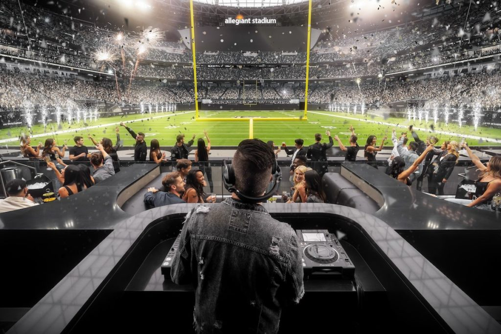 Wynn Field Club to Debut Nightlife Experience in the End Zone at Allegiant Stadium