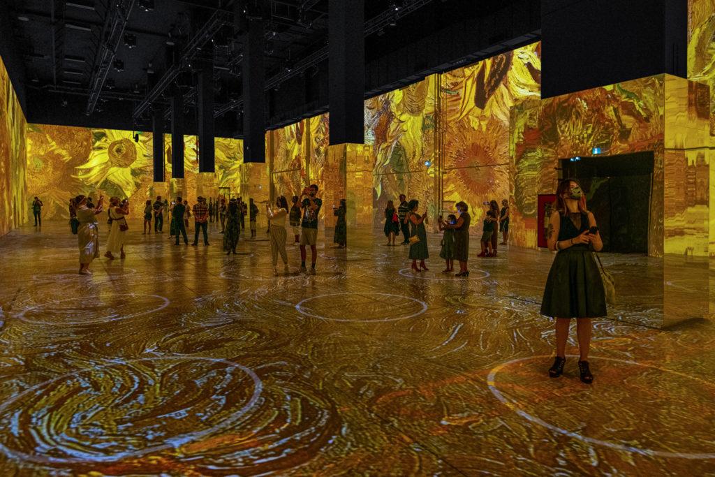 Lighthouse Immersive Van Gogh Exhibit
