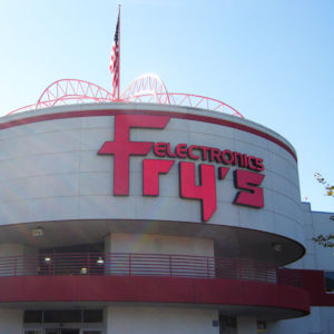 Fry's Electronics Serra Mesa Abruptly Shutters Alongside Company's 30 Other Stores