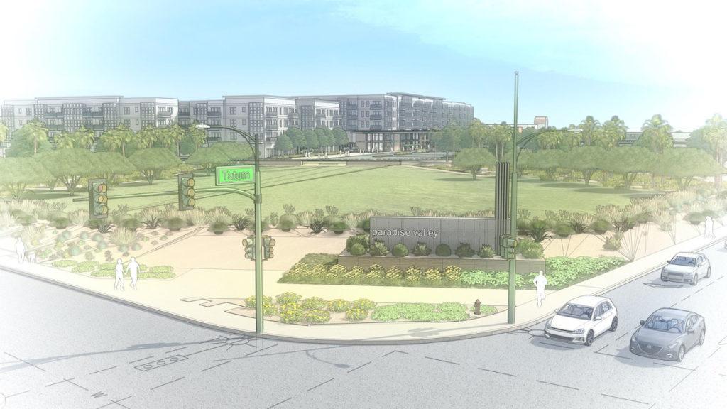 PV Mall Redevelopment Preliminary Perspective