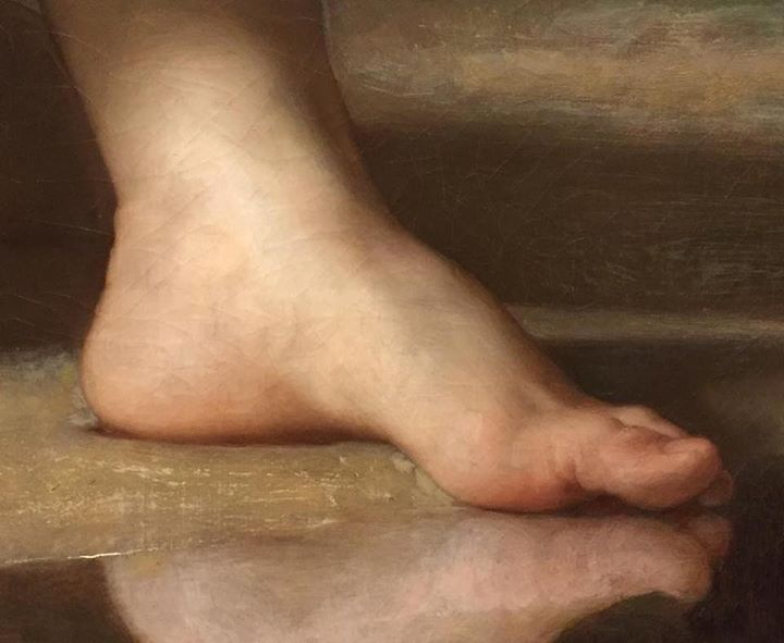 Foot fetish snap