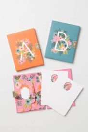 Monogramed Note Cards