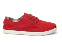 Toms Red Shoe