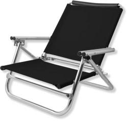 Black Beach Chair