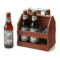 Father's Day Wooden Six Pack Holder Uncommon Goods