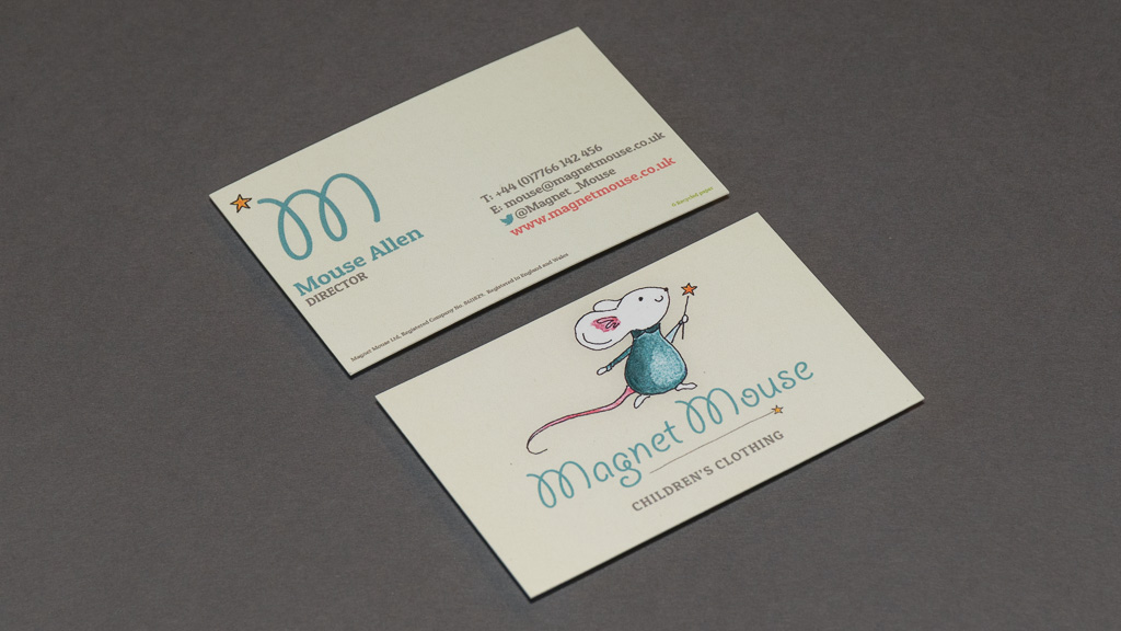 Logo and business card designs for Magnet Mouse