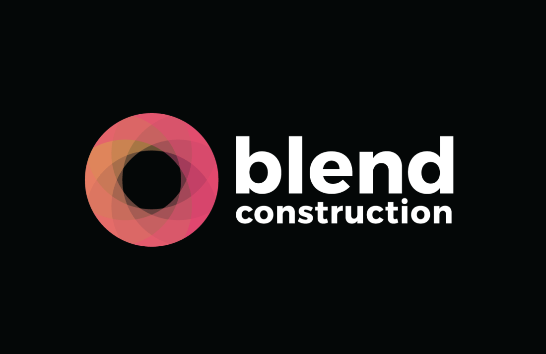 Blend Construction Logo