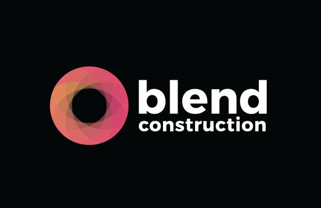 Blend Construction Logo