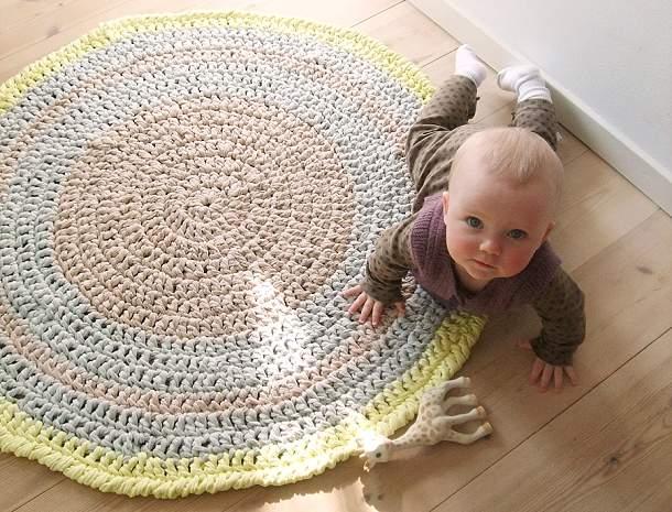 Hæklet-tæppe (1)