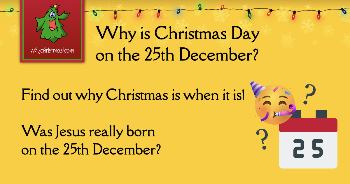 Why Christmas Celebrated On The 25th December?  Christmas Customs And Traditions