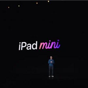 iPad Mini, Apple event 2021