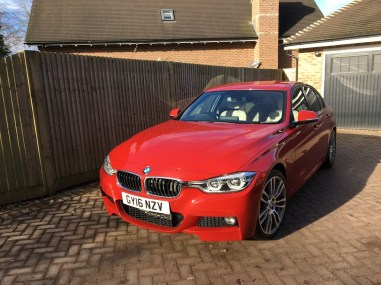 low RES Bmw 320 m sport 1