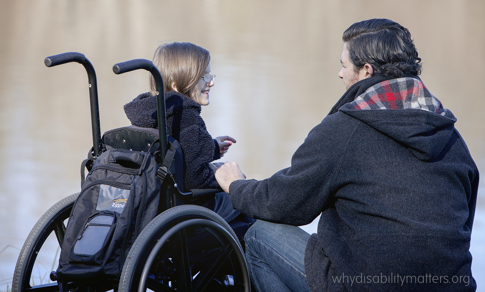 how to interact with kids with disabilities