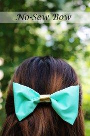 diy -sew bow