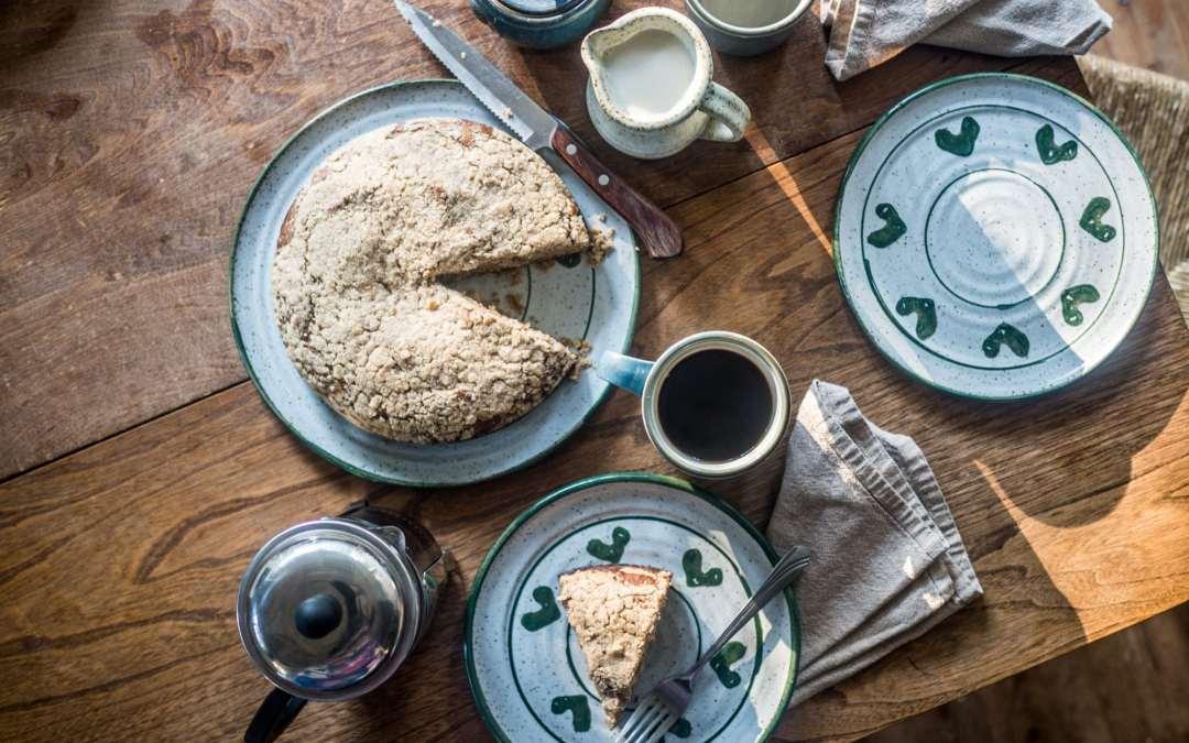 [Healthy] Coffee cake