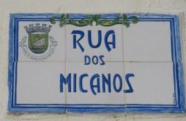 Rua dos Micanos