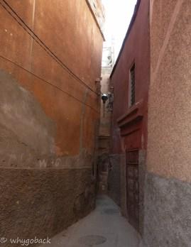 Wejście do Riadu Bounaga