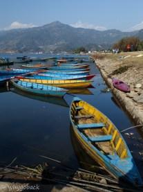 Pokhara Phewa Taal Boating
