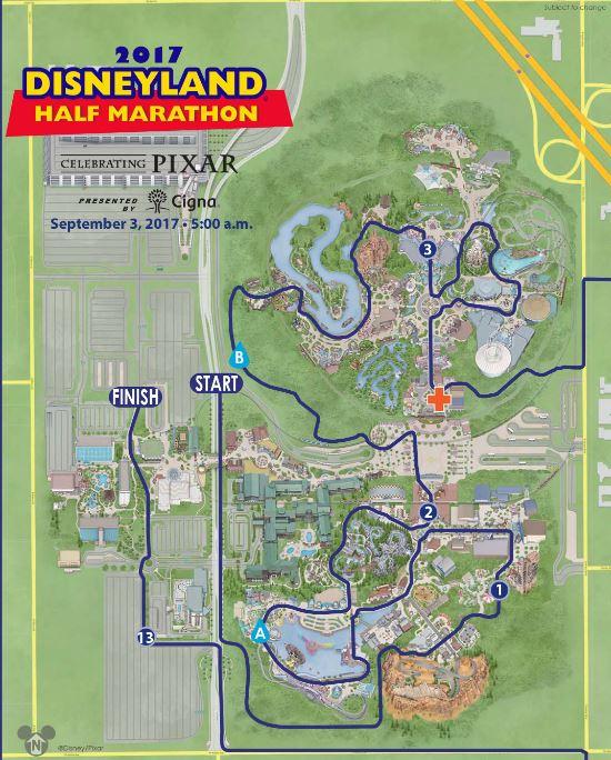 Disney Marathon Course Map 2017 : disney, marathon, course, Disneyland, Marathon, Weekend, Event, Guide, Highlights, RunDisney