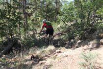 Rocky Ridge mountain biker