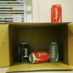 coke can nativity