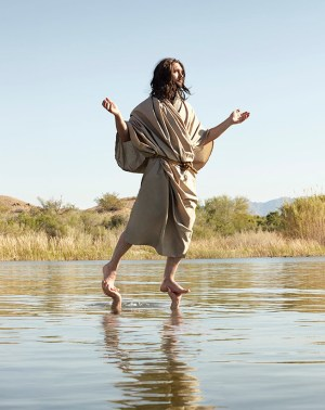 jesus on the water, cropped