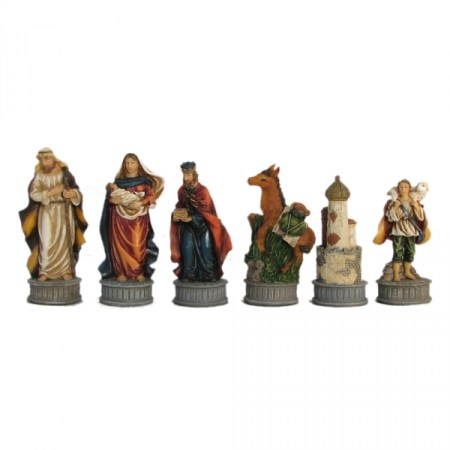nativity chess set