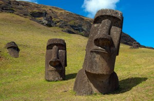 easter island moais