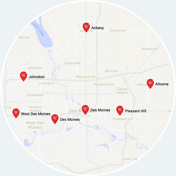 Whylie Locations
