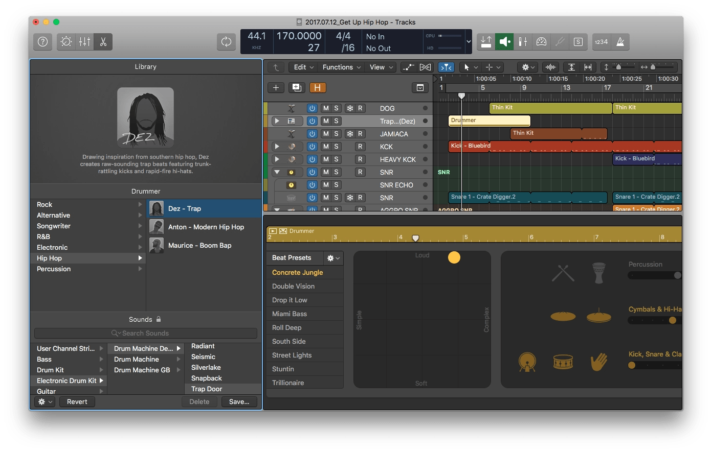 why drummer in logic pro x is the best thing to happen to your life rh whylogicprorules com Logic Pro X Amp Logic Pro X Keyboard Wireless