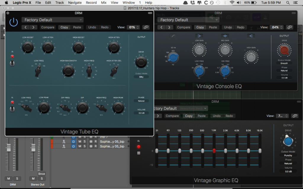 Vintage EQ Collection
