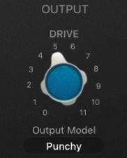 Logic Pro X Vintage Graphic EQ Output Mode