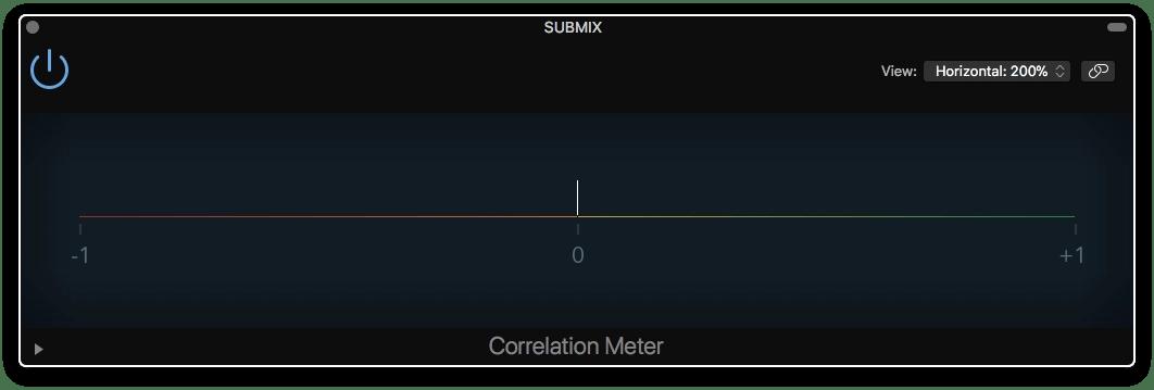 Logic Pro X Correlation Meter